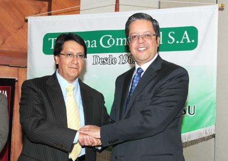 Teojama Comercial y Toyota establecieron una alianza