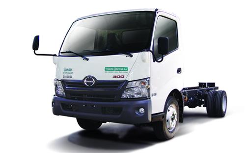 Inspección Diaria de un camión Hino serie 300