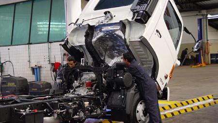 Servicio Express de Teojama Comercial: 1 hora para revisar tu camión