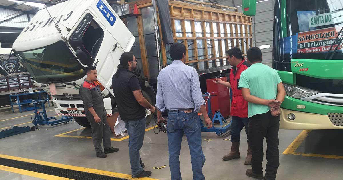 Iniciamos jornadas de revisión técnica gratuita para camiones Hino