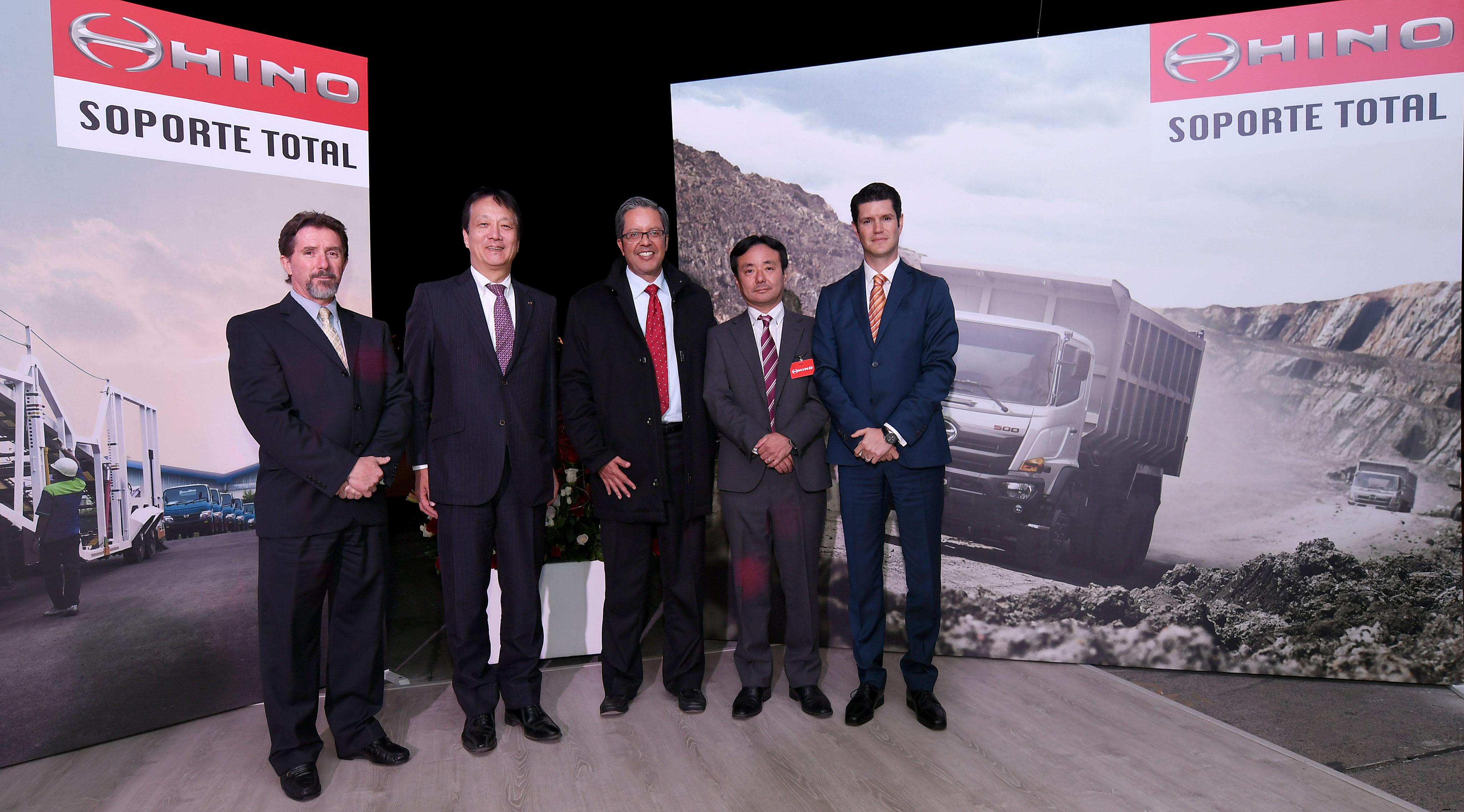 Teojama Comercial presentó la Nueva Serie 500 de Hino