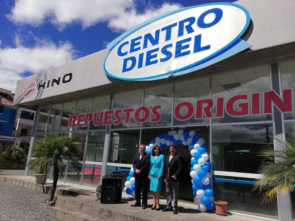 TEOJAMA COMERCIAL FIRMÓ CONVENIO CON  CENTRO DIESEL