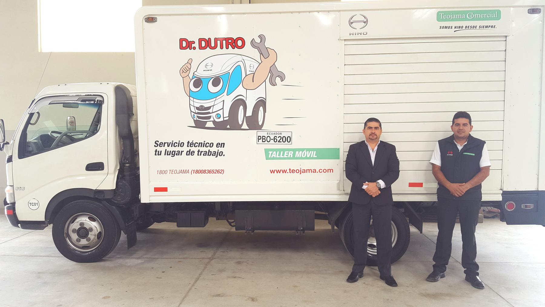 """TEOJAMA COMERCIAL CONSOLIDA SU SERVICIO DE TALLERES MÓVILES """"DR. DUTRO"""""""