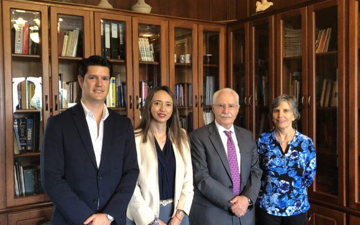 TEOJAMA COMERCIAL FIRMA CONVENIO DE PASANTÍAS CON LA UNIVERSIDAD SAN FRANCISCO DE QUITO
