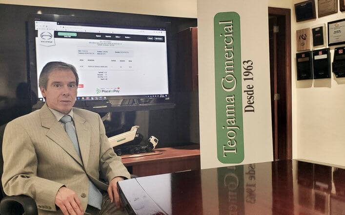 TEOJAMA COMERCIAL INCORPORA BOTÓN DE PAGOS PARA LA COMPRA Y FACTURACIÓN DE REPUESTOS