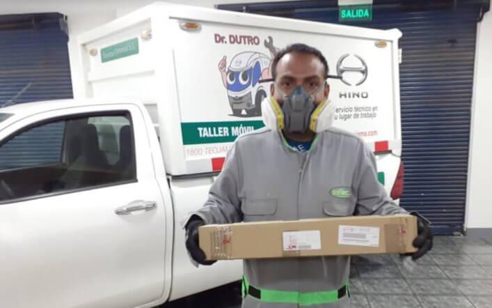 TEOJAMA COMERCIAL REALIZA ENTREGAS DE REPUESTOS A DOMICILIO DURANTE LA EMERGENCIA SANITARIA