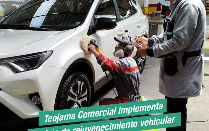 Teojama Comercial Implementa Servicio de Rejuvenecimiento Vehicular
